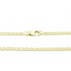 Łańcuszek złoty ręcznie robiony