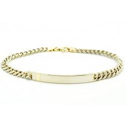 Bransoleta z białego złota